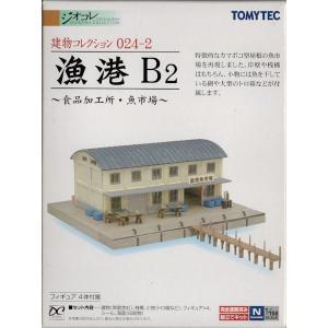 建物コレクションシリーズ 024-2 漁港B2 〜食品加工所・魚市場〜|purasen