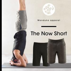【SALE20%OFF】Manduka MEN'S ナウショート ヨガパンツ メンズ 男性用 ヨガウェア おしゃれ フィットネス ヨガウェア ハーフパンツ スポーツ マンドゥカ|puravida