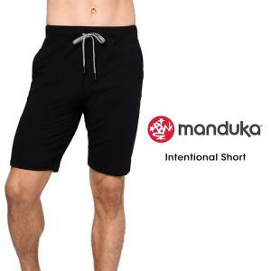 【送料無料メ】 メンズ ヨガウェア 日本正規品[Manduka] MEN'S インテンショナル ショート(男性用 ショートパンツ) 18FW 《#721137》|puravida