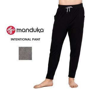 【送料無料】 メンズ ヨガウェア 日本正規品[Manduka] MEN'S インテンショナル パンツ(男性用 ロングパンツ) 19SS Intentional Pant ヨガウエア メンズヨガ|puravida