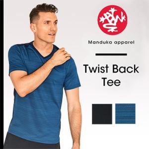【送料無料メ】Manduka MEN'S ミニマリストTee2.0 ヨガウェア ヨガトップス 半袖 メンズ メンズヨガ フィットネス ヨガトップス スポーツ Tシャツ マンドゥカ|puravida