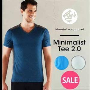 50%OFF Manduka MEN'S ミニマリストTee2.0 ヨガウェア ヨガトップス 半袖 メンズ メンズヨガ フィットネス ヨガウェア スポーツ Tシャツ マンドゥカ|puravida