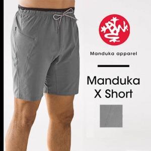 40%OFF Manduka MEN'S マンドゥカ エックスショート ヨガパンツ メンズ 男性用 ヨガウェア フィットネス ヨガ スポーツ ハーフパンツ マンドゥカ|puravida