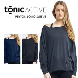 50%OFF [TONIC] ペイトン ロングスリーブ(女性用 長袖 トップス) Peyton Long Sleeve 18WIN トニック ヨガ ヨガウエア ドルマン バレエ《3172-418》|puravida