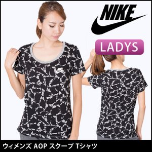 【10%OFF】(ナイキ) NIKE ウィメンズ AOP スクープ Tシャツ フィットネスウェア フィットネスウェア ランニングウェア ヨガウェア エクササイズ