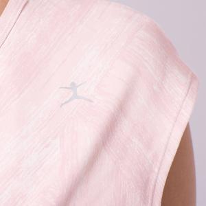【送料無料メ】[DANSKIN] プリントフレンチトップ 19SS ヨガウェア ヨガウエア トップス 半袖 Tシャツ フレンチスリーブ ホットヨガ フィットネス ジム puravida 08