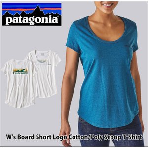 [Patagonia] コットン/ポリ・スクープ・Tシャツ