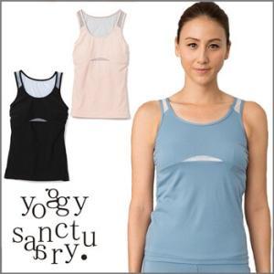 50%OFF yoggy sanctuary オープンバックメッシュトップ ヨガウェア トップス おしゃれ タンクトップ レディース ヨガトップス ホットヨガ フィットネス|puravida