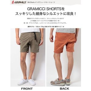 Gramicci MEN'S ニューナローショーツ ハーフパンツ ショートパンツ クライミングパンツ グラミチ グラミチパンツ クライミング フェス キャンプ|puravida|06