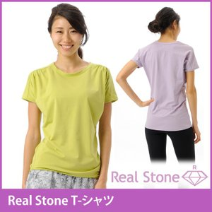 [REAL STONE] T-シャツ(女性用 トップス)