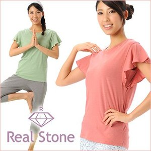 [REAL STONE] デザイン Tシャツ