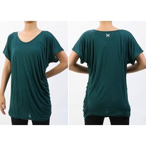 【送料無料メ】ヨガ Tシャツ [CHACOTT] ドレープTシャツ(女性用 トップス) 18FW ヨガウェア 《253211-0305-83》|81023|「SK」|puravida|05