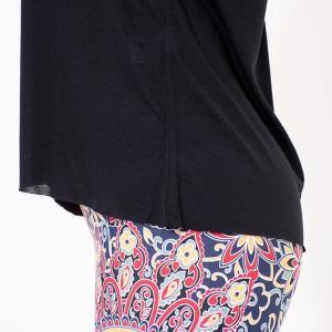 ヨガウェア ヨガ トップス リクイド LIQUIDO エッセンシャル トップ 19FW Tシャツ カットソー 体型カバー 半袖 ゆったり Vネック|puravida|11