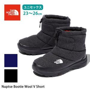 【30%OFF】アウトドア 靴 ノースフェイス THE NORTH FACE ヌプシ ブーティー ウール V ショート 19FW スノーブーツ 防水|puravida