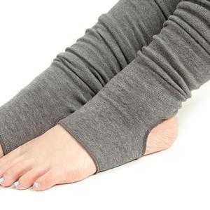 yoggy sanctuary ニーハイ バレエ レッグウォーマー レッグウォーマー ヨガグッズ レッグウォーマー ヨガ靴下 フィットネス ヨガウェア 靴下 冷え対策|puravida|06