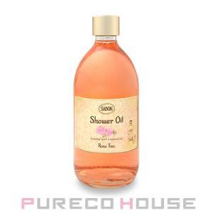 【SABON】サボン シャワーオイル 500ml ポンプなし #ローズティ(Rose Tea)【メール便は使えません】|pureco2nd