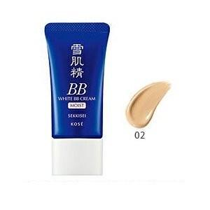 コーセー 雪肌精 ホワイト BBクリーム モイスト SPF40/PA+++ 30g #02【メール便...