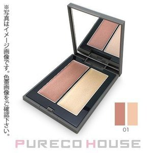THREE(スリー) シマリング グロー デュオ 6.8g #01【メール便可】|pureco2nd