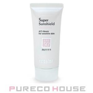 アクセーヌ スーパーサンシールド ブライトフィット (日やけ止め乳液) 顔・からだ用 SPF50+・PA++++ 40g【メール便可】|pureco2nd