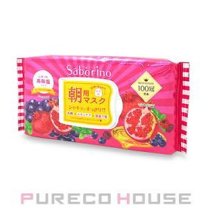 サボリーノ 目ざまシート 完熟果実の高保湿タイプ (朝用フェイスマスク) 28枚入り【メール便は使えません】|pureco2nd