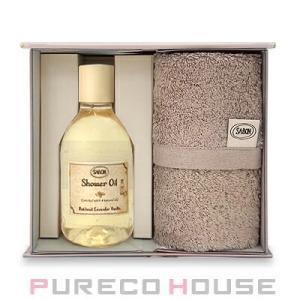 【SABON】サボン シャワーオイル 300ml & オーガニック タオル #パチョリラベンダーバニラ【メール便は使えません】|pureco2nd