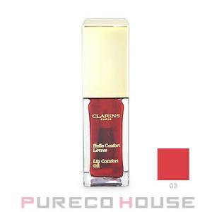 クラランス コンフォート リップオイル 7ml #03 red berry【メール便可】|pureco