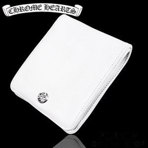 新品 正規品 クロムハーツ CHROME HEARTS 財布 メンズ レディース ワンスナップ BS フレアボタン ヘビーレザー ウォレット purely