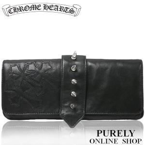 新品正規品 クロムハーツ CHROME HEARTS バッグ 財布 メンズ レディース Wallet Hevin Nubuck クラッチバッグ|purely