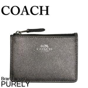 コーチ COACH 財布 レディースコインケース レディース アウトレット ウォレット パスケース F21072 SVGM ガンメタル|purely
