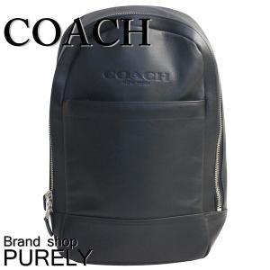 コーチ COACH バッグ ショルダーバッグ メンズ アウトレット レザー スリム リュック F54135 BLK ブラック|purely