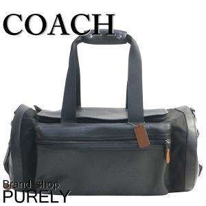 コーチ COACH バッグ メンズ ボストン バッグ アウトレット パーフォレイテッド テイレン ジム バッグ F56875 FD7 ブラック×ダークサドル|purely