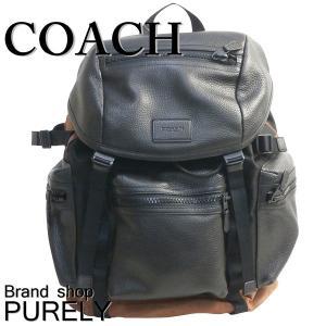 コーチ COACH バッグ メンズ アウトレット バック パック テック ナイロン テイレン トレック パック リュック サック F56876 FD7 ブラック×ダークサドル|purely