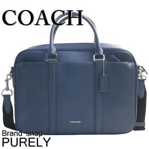 コーチ COACH バッグ メンズ アウトレット ブリーフケース ビジネスバッグ レザー ペリー スリム ブリーフ F59057 NIL6I ダークデニム|purely