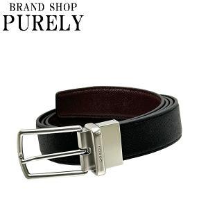 ベルト メンズ コーチ COACH カット トゥ サイズ リバーシブル レザー ベルト F59116 AQ0 ブラック×ブラウン|purely