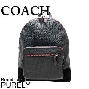 全品ポイント5倍 コーチ バッグ メンズ COACH リュックサック ゴシック コーチ スクリプト ウエスト バック パック F69027 QB/BK ブラック|purely