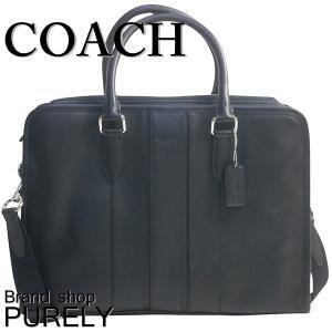 コーチ COACH バッグ メンズ アウトレット ビジネスバッグ スムース  レザー ボンド ブリーフ ケース F72309 BLK ブラック|purely