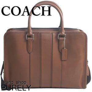 コーチ COACH バッグ メンズ アウトレット ビジネスバッグ スムース  レザー ボンド ブリーフ ケース F72309 CWH ダークサドル|purely