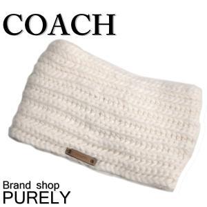 コーチ COACH ヘッドバンド レディース 小物 ニット帽 アウトレット ソリッド ヘッド ウォーマー F86025 CHK チョーク|purely