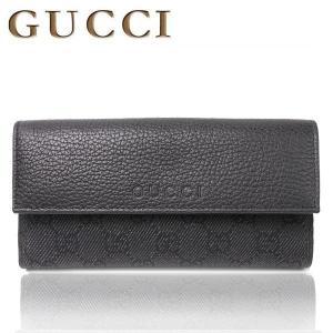 グッチ GUCCI  メンズ レディース 財布 GG キャンバス レザー ロング ウォレット 長財布 さいふ 143389|purely