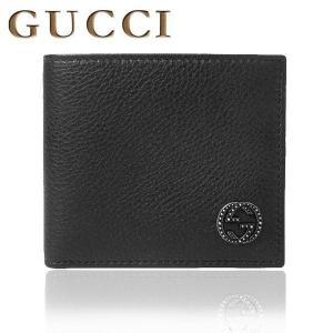 グッチ GUCCI 財布 メンズ レザー GGアイコン付 ウォレット 折り財布 さいふ 308777 SS|purely