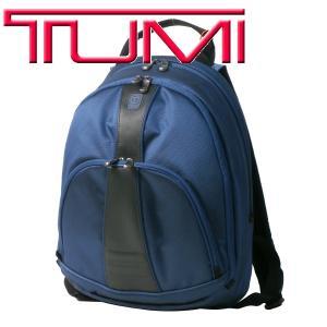 トゥミ TUMI メンズ バッグ T-TECH バック ナイロン スリム バック パック リュック カバン 55316 CB ブルー|purely