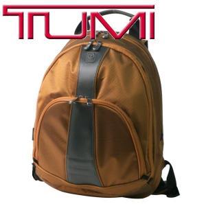トゥミ TUMI メンズ バッグ T-TECH バック ナイロン スリム バック パック リュック カバン 55316 CP オレンジ|purely