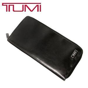 トゥミ TUMI メンズ 財布 CAPRA レザー トラベル ジッピー ウォレット 長財布|purely