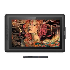 XP-Pen 液タブ 液晶ペンタブレット 15.6インチ バッテリフリースタイラス フルHD 筆圧8...