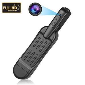 小型カメラ 1080P 1200万画素  5.5時間連続稼働 充電しながら録画可能 ウェアラブル T...