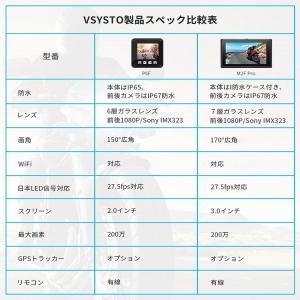 VSYSTO バイク用 全体防水 ドライブレコーダー WiFi搭載 日本全国LED信号機対応 前後2カメラ 150°広角 200万画素 1080PフルHD 同時録画 SONY IMX323センサー 6|puremiamuserekuto|02