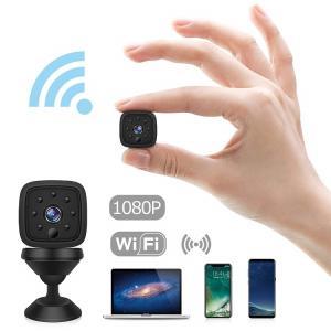 WIFI 小型カメラ HEYSTOP WiFi無線接続 ワイヤレス ミニ 遠隔監視 1080P高画質 防犯 監視  長時間 写真録画録音 動体検知 アラーム機能 手振れ補正 アウトドア|puremiamuserekuto
