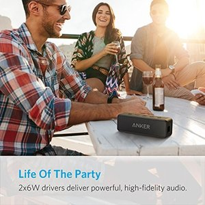 Anker SoundCore 2 (12W Bluetooth 4.2 スピーカー 24時間連続再生)【強化された 低音 IPX5 防水規格 デュアルドライバー マイク内蔵】 A3105011   アンカー ス puremiamuserekuto 02
