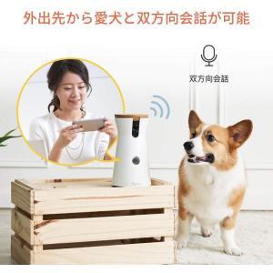 Furbo ドッグカメラ 飛び出すおやつ 写真 動画撮影 双方向会話 iOS Android対応 Alexa対応 AI搭載|puremiamuserekuto|06