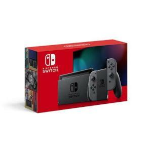 Nintendo Switch 本体 (ニンテンドースイッチ) Joy-Con(L)/(R) グレー...